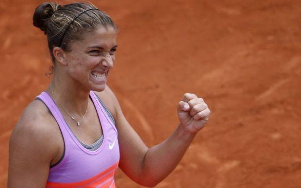 WTA Eastbourne: passa la Errani, fuori Giorgi e Pennetta