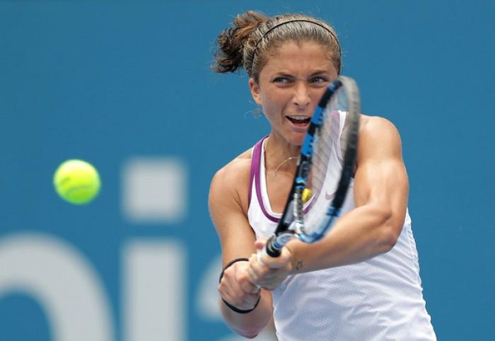 WTA Sydney, fuori Sara Errani