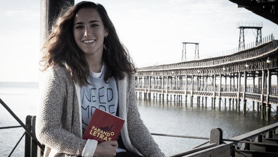 Sara Serrat, dueña de la portería y de la palabra