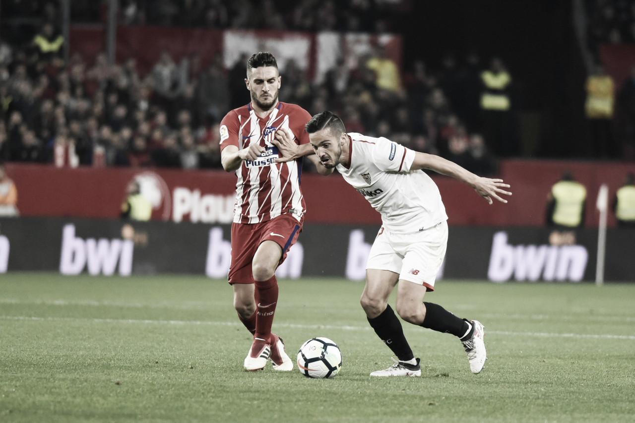 Resumen Sevilla FC vs Atlético de Madrid hoy en LaLiga 2019 (1-1)