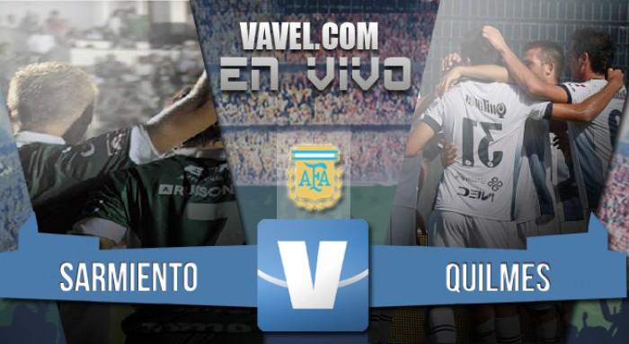 Resultado Sarmiento 2-2 Quilmes por el Torneo de Transición 2016