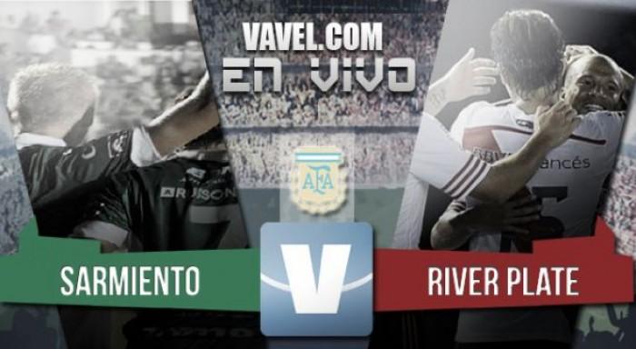 River Plate 2 - 2 Sarmiento: Caruso strikes back
