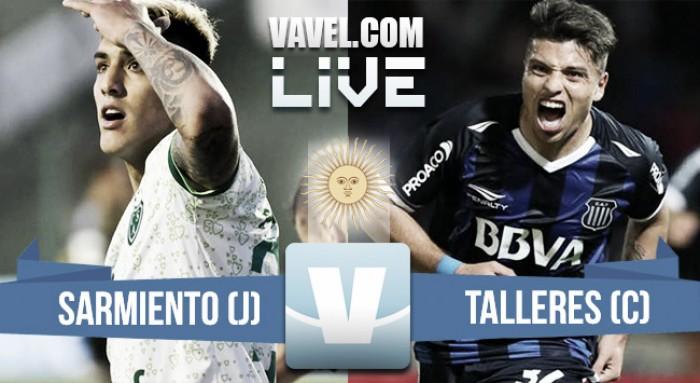 Resumen y goles del partido Sarmiento 1-4 Talleres en Liga Argentina 2017