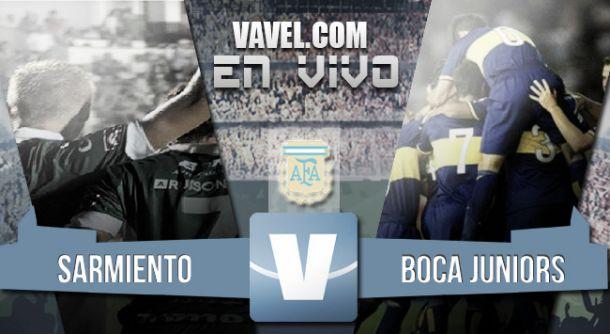 Resultado Sarmiento - Boca Juniors en Torneo Primera División 2015 (0-1)