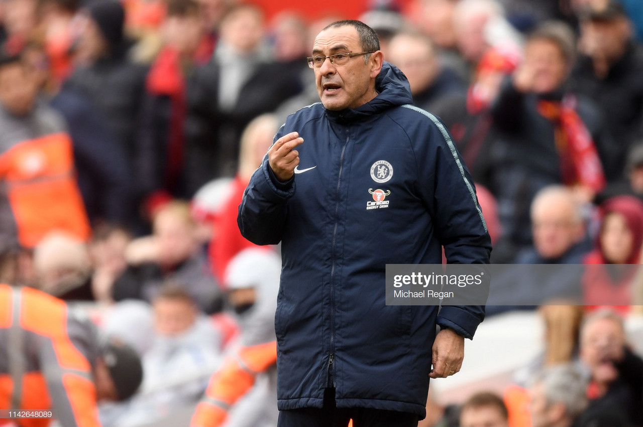 Maurizio Sarri makes title prediction after his side were blown away by Liverpool