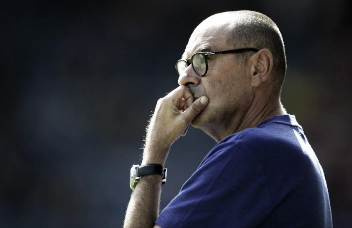 """Maurizio Sarri: """"Nuestra mejor capacidad fue sufrir en el inicio"""""""