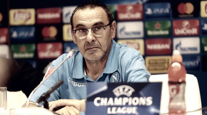 """Napoli, Sarri tra campo e Scudetto: """"Se siamo quelli del girone di ritorno..."""""""