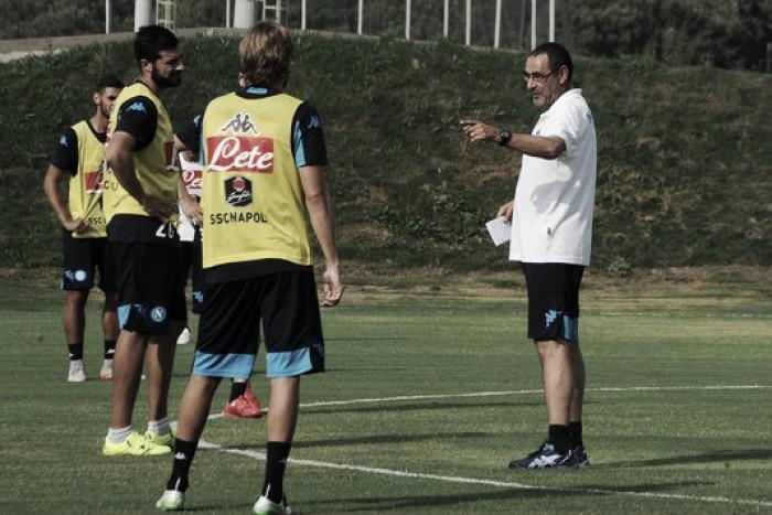 """Sarri verso la Juventus: """"Non conta solo l'aspetto mediatico della sfida. Non firmo per nulla"""""""