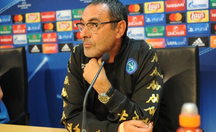 """Napoli, Sarri verso il Real Madrid: """"Scenderemo in campo con la faccia tosta"""""""