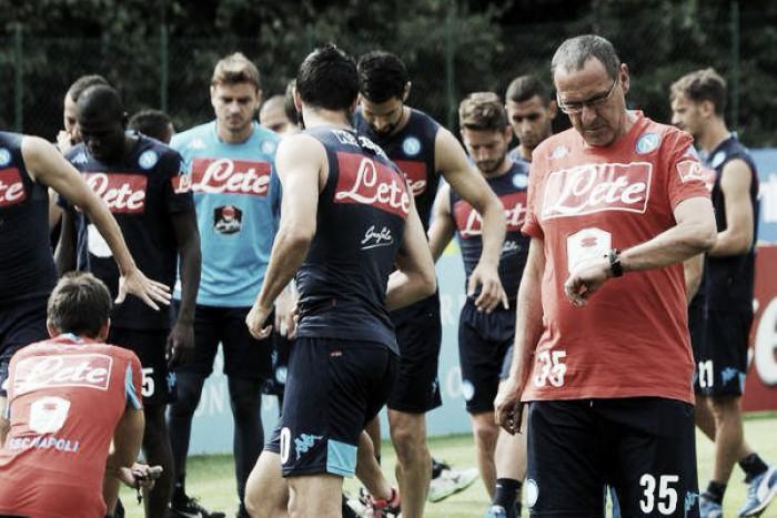 """Napoli, Sarri verso la Champions: """"Possiamo passare il girone"""""""