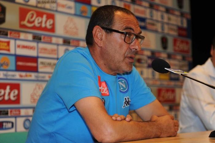 """Napoli, Sarri: """"A Palermo gara importante per la nostra crescita. Mercato? Di prospettiva"""""""