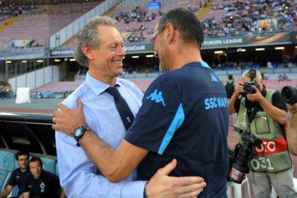 """Sarri soddisfatto: """"Non ho visto una squadra abbattuta e triste, ma vincere aiuta"""""""