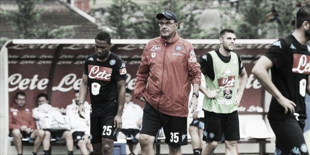 """Napoli, Sarri: """"Gara di grande difficoltà, ma proveremo ad imporre il nostro gioco"""""""
