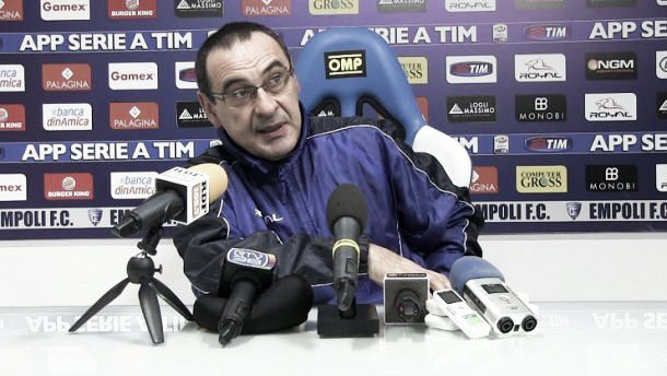 """Empoli, Sarri: """"A San Siro per fare risultato. Poi incontrerò la società"""""""