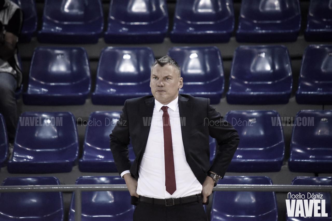 """Šarūnas Jasikevičius: """"Durante mucho tiempo, no seguimos el plan que habíamos hablado antes del partido"""""""