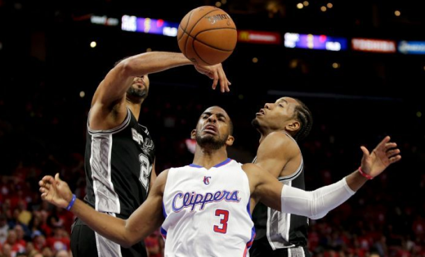 Los Angeles Clippers Slow Down Defending Champs San Antonio Spurs In Game 1