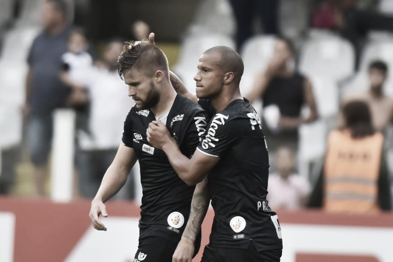 Sem muito esforço, Santos bate CSA e se recupera no Brasileirão