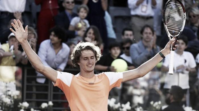 Zverev supera Djokovic e conquista maior título da carreira em Roma