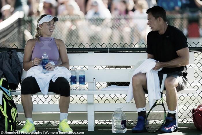 Caroline Wozniacki splits with hitting partner Sascha Bajin