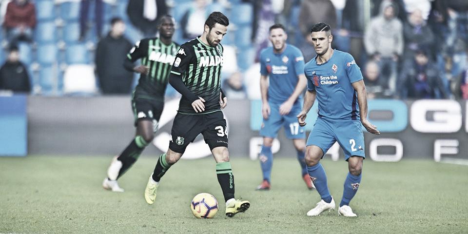 Fiorentina marca duas vezes no fim e evita derrota para Sassuolo