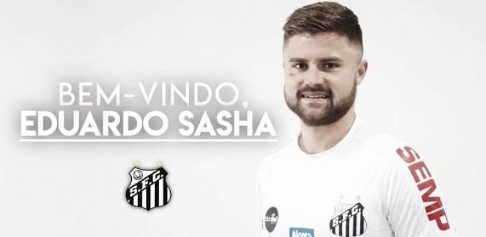 Santos anuncia contratação de Eduardo Sasha