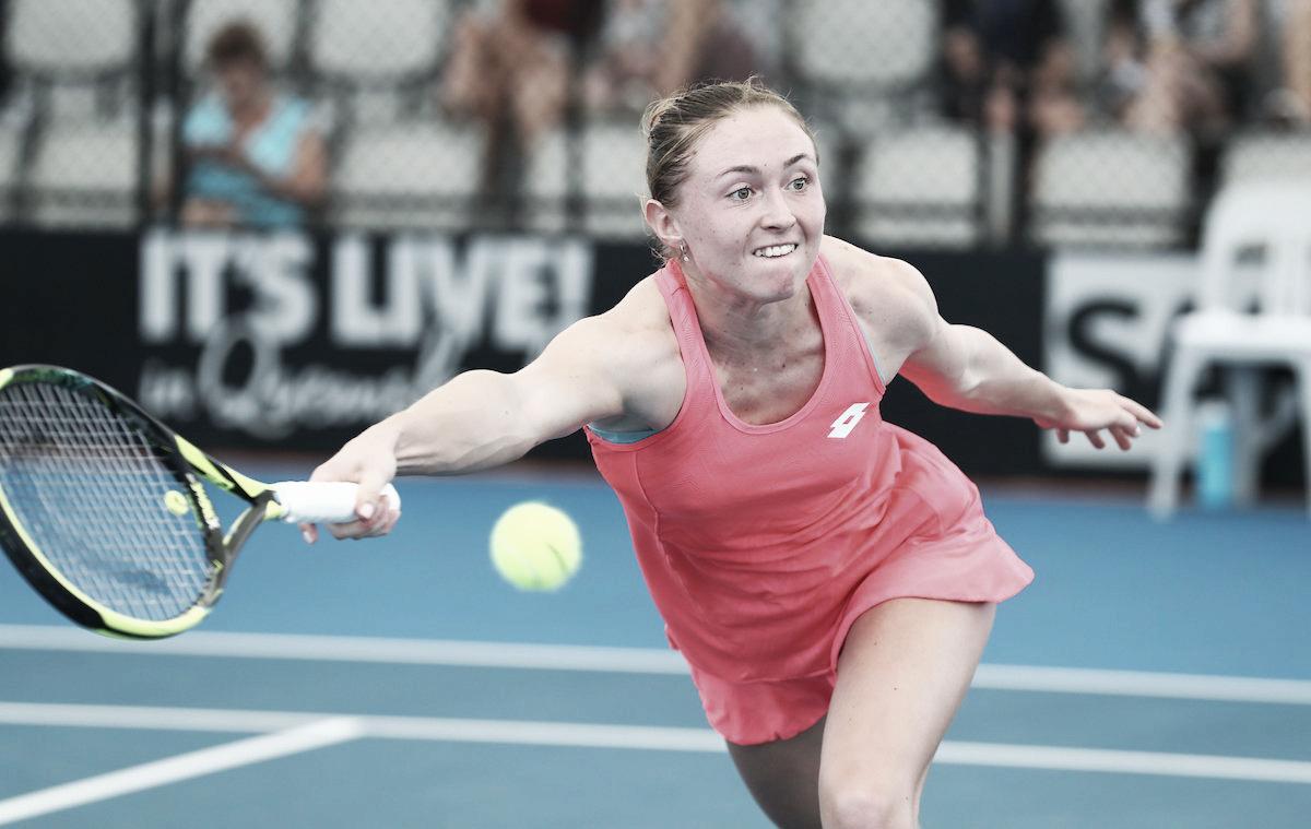 Sasnovich passa por Potapova e marca encontro com Svitolina na segunda ronda de Brisbane
