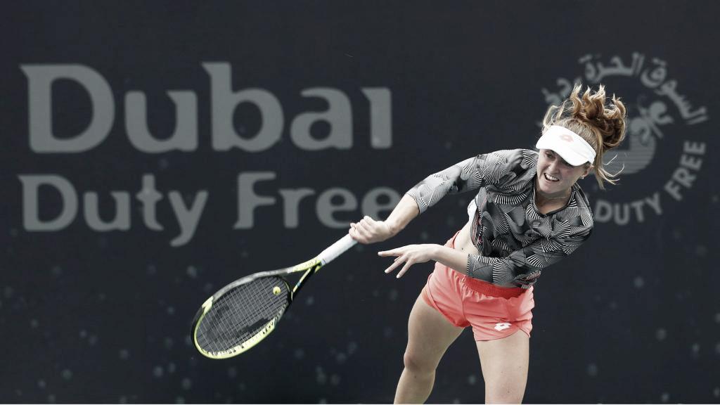 Sasnovich toma pneu, mas vira em cima de Makarova e avança em Dubai