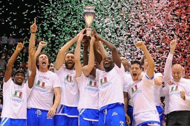 La Dinamo Sassari è Campione d'Italia