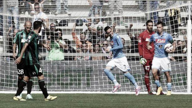 Live Sassuolo - Napoli, risultato Serie A 2015/2016  (2-1)