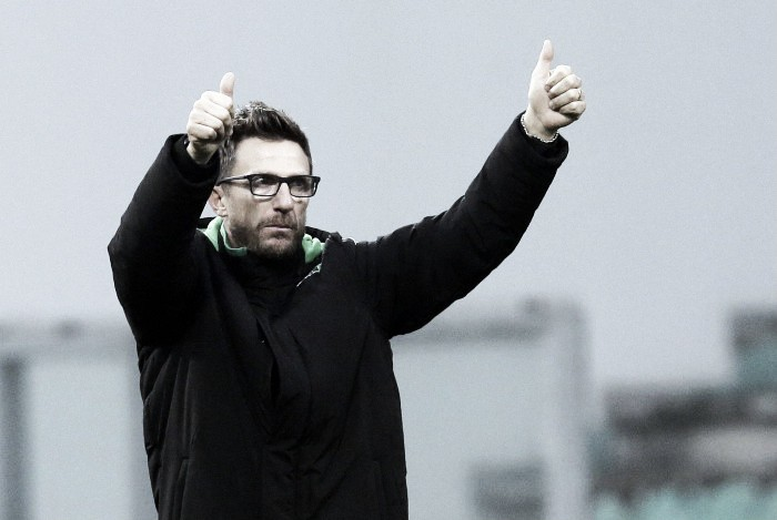 Di Francesco believes his side are dreaming of Europe