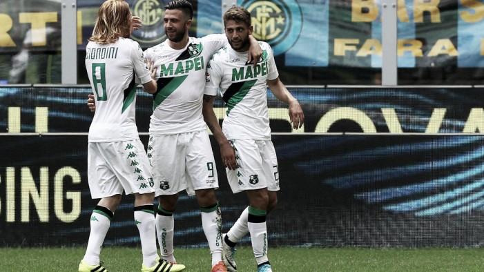 Sassuolo, la soddisfazione per la vittoria sull'Inter nelle parole del post partita