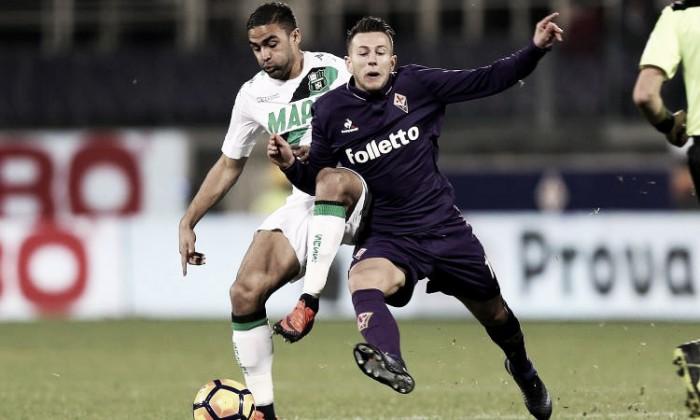 Serie A, Sassuolo-Fiorentina 2-2 Bernardeschi mantiene vivo il sogno Europa