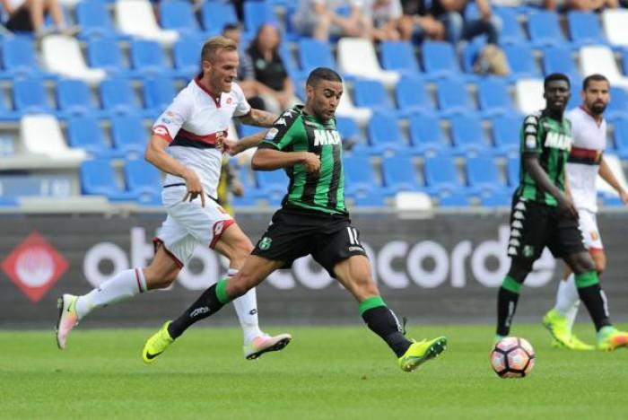 Defrel illuminante, Sassuolo vincente: battuto il Genoa 2-0