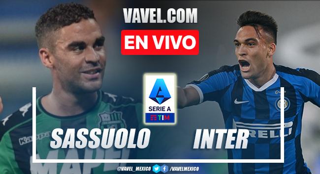Goles y resumen del Sassuolo 1-2 Inter en Serie A