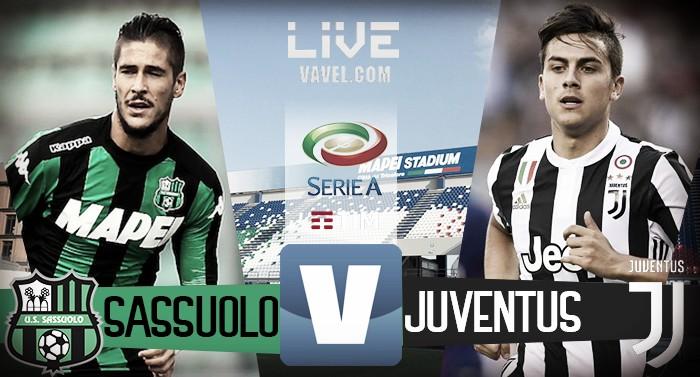 Sassuolo-Juventus in diretta, LIVE Serie A 2017/2018: troppo Dybala! (1-3)