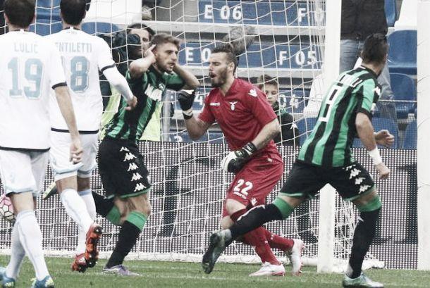 Sassuolo-Lazio: bel successo degli emiliani, quinti tra le big della classifica