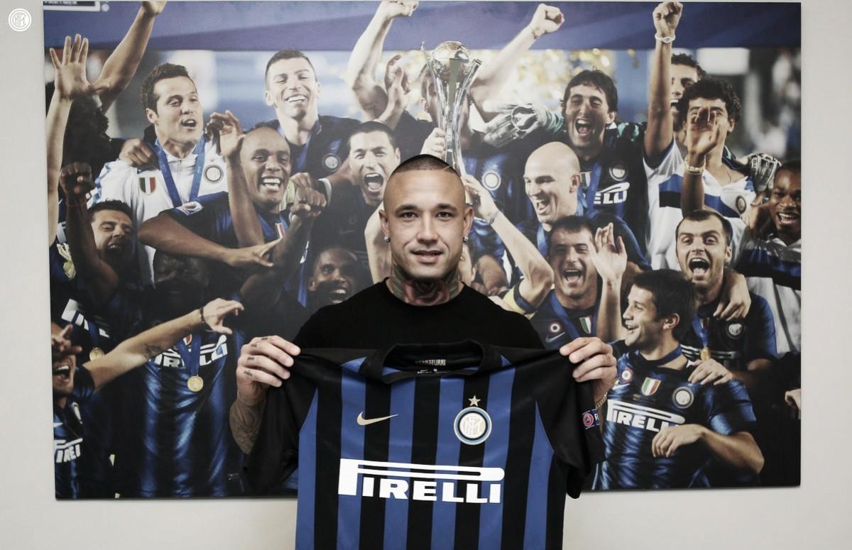 Nainggolan passa por exames e é oficialmente apresentado na Internazionale