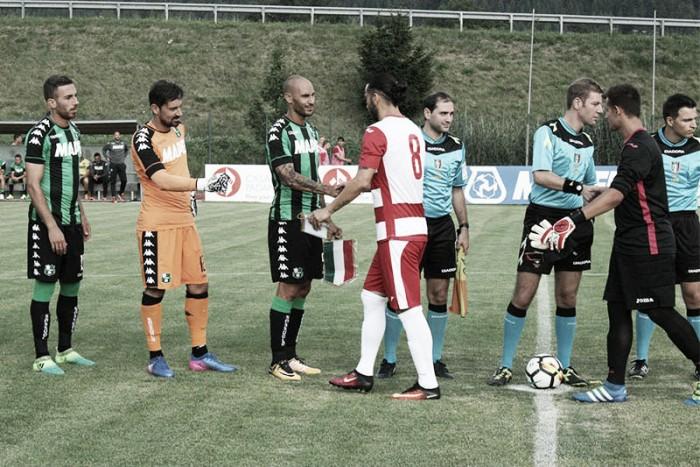 Sassuolo, ancora tanti goal in amichevole: 9-0 al Real Vicenza