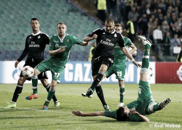 """Benzema: """"Marcar está bien pero lo importante es el juego"""""""