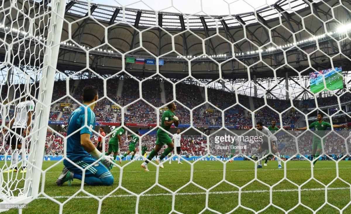 Saudi Arabia 2-1 Egypt: Stoppage time winner sends Saudi's wild