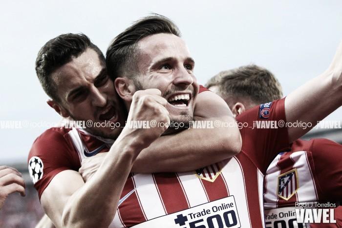 Saúl deslumbra, el Atlético sueña