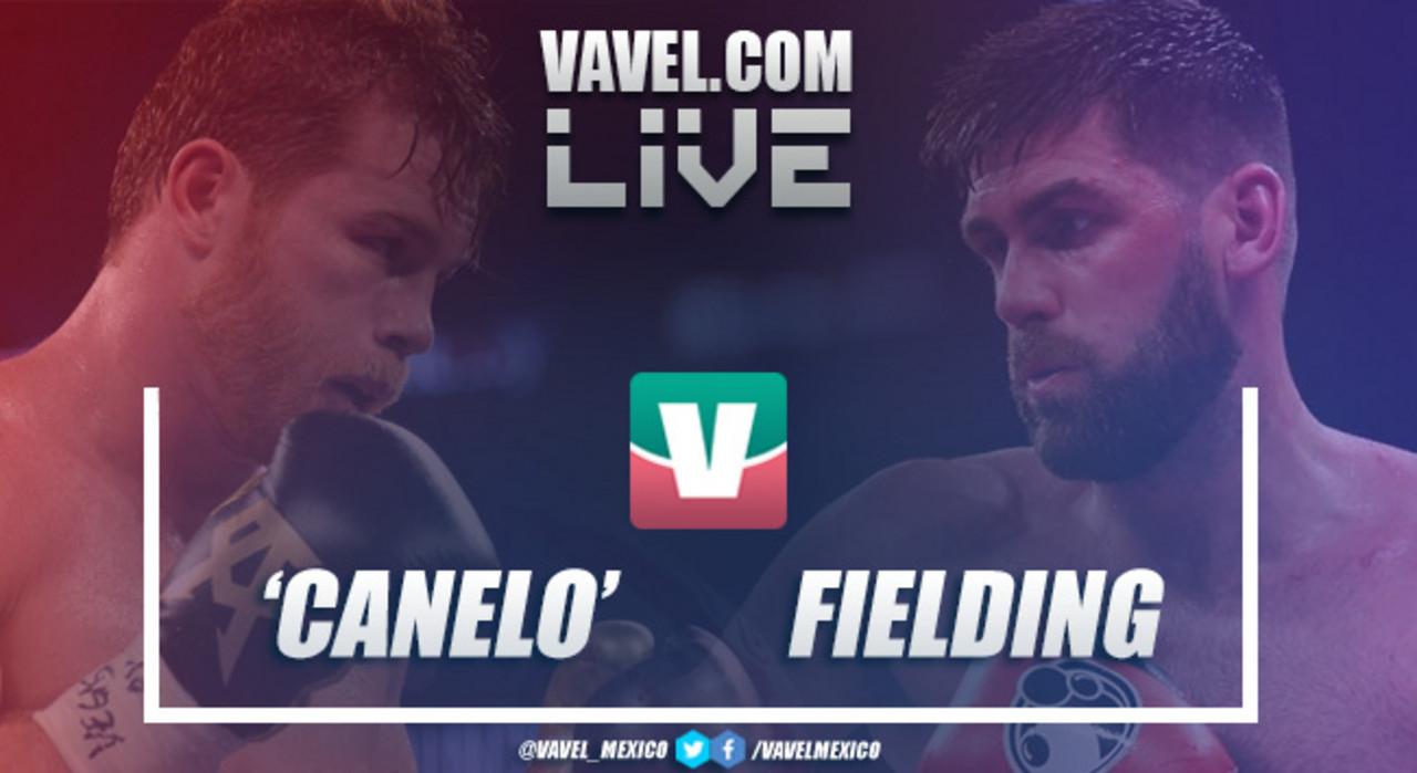 Resumen y Knock Out Canelo Álvarez vs Rocky Fielding 2018