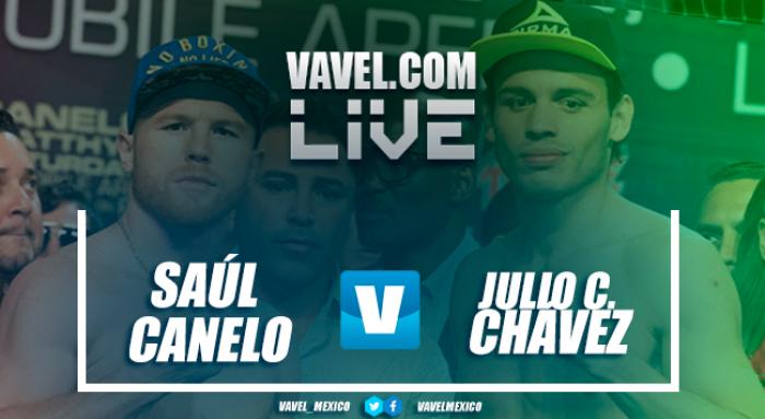 Resultado y rounds de la pelea Canelo vs Chavéz Jr. 2017