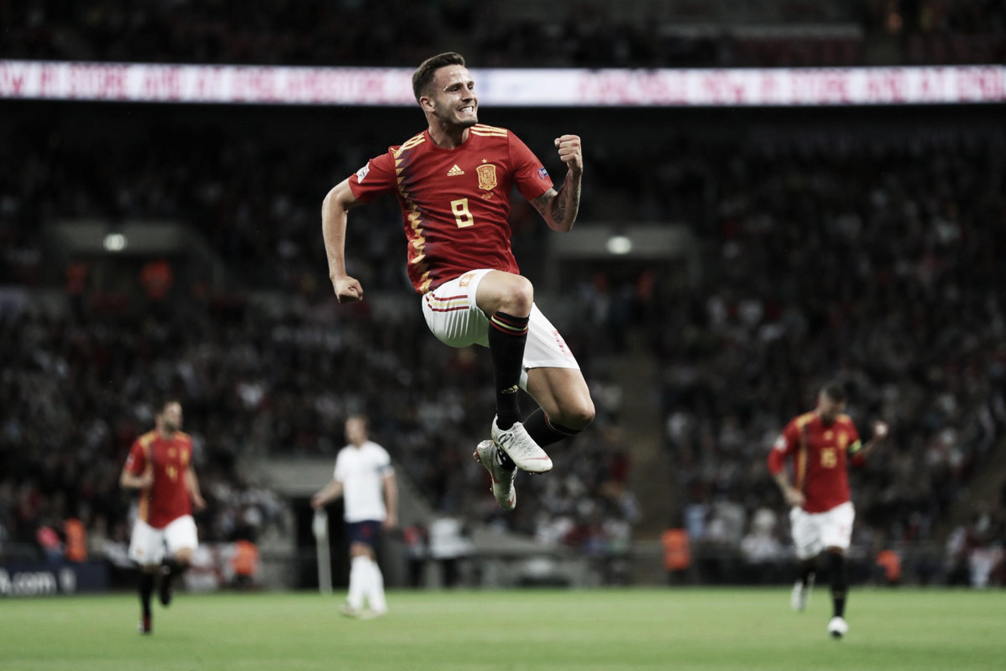 Espanha vira contra Inglaterra em Wembley e estreia com pé direito na Liga das Nações