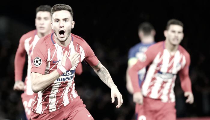 """Saúl Ñíguez: """"No es un gol importante"""""""