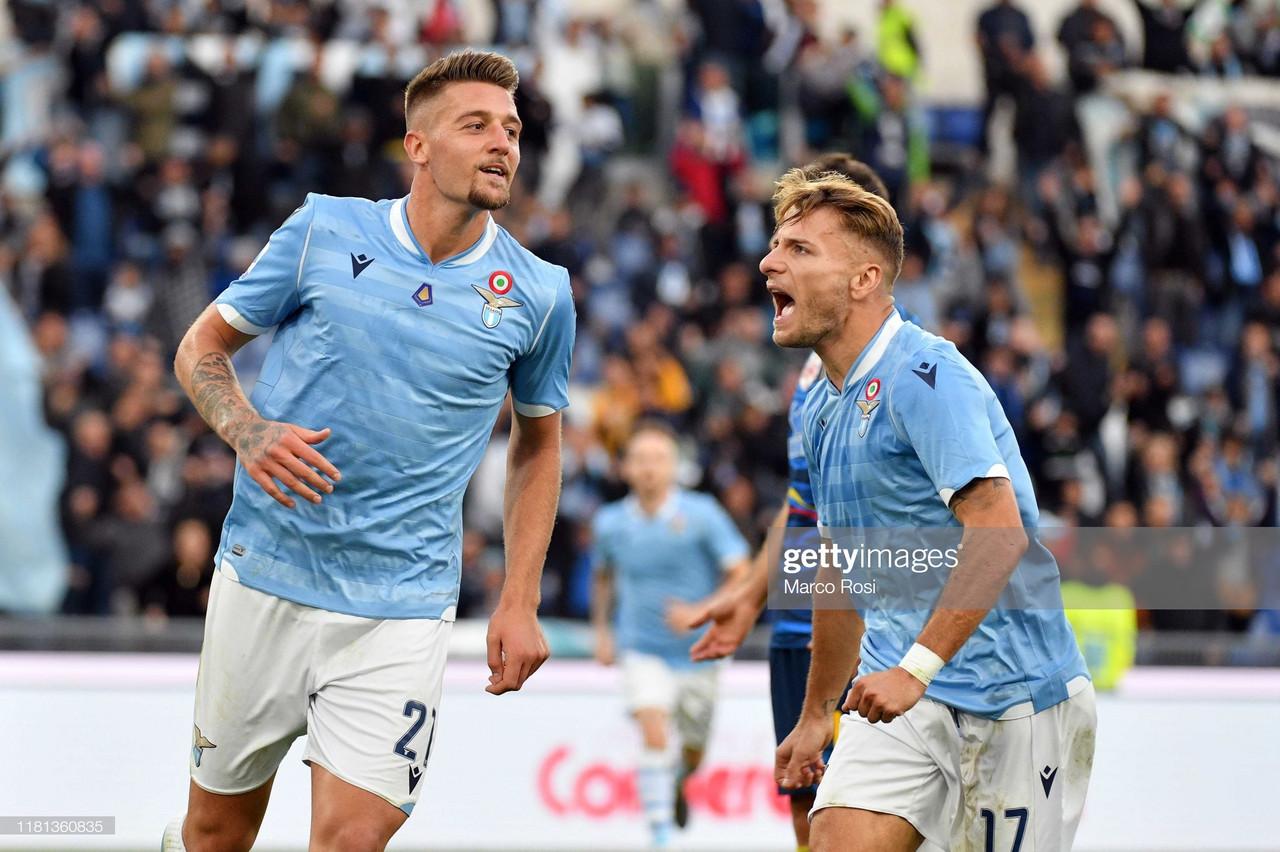 Lazio 4-2 Lecce: Lazio remain unbeaten in seven straight Serie A games