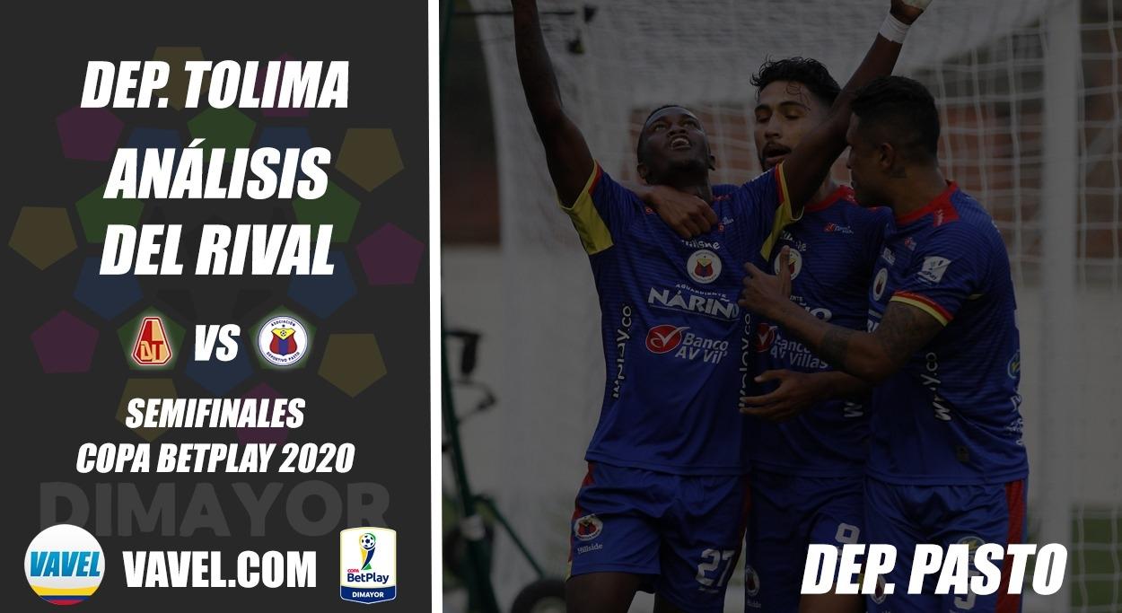 Deportes Tolima, análisis del Rival: Deportivo Pasto (Semifinales, Copa 2020)