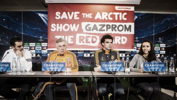 Gazprom, o «intruso» da Champions