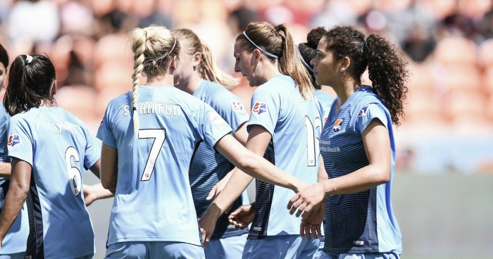 Sam Kerr lifts Sky Blue FC to 3-1 victory against the Houston Dash