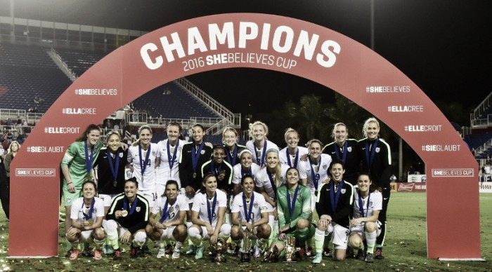 USA 2-1 Germany: USWNT win the first SheBelieves Cup